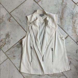 1. STATE White Vest